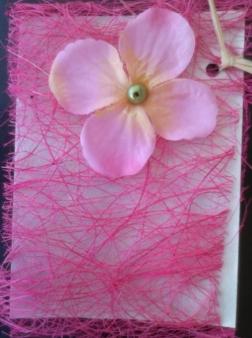 Cartão Rosa